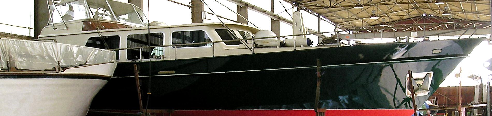 Yachtservice Meidericher Schiffswerft MSW Duisburg - Frei & Hallenlager