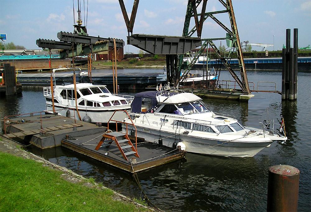 Yachtservice Meidericher Schiffswerft MSW Duisburg - Anleger Yachten