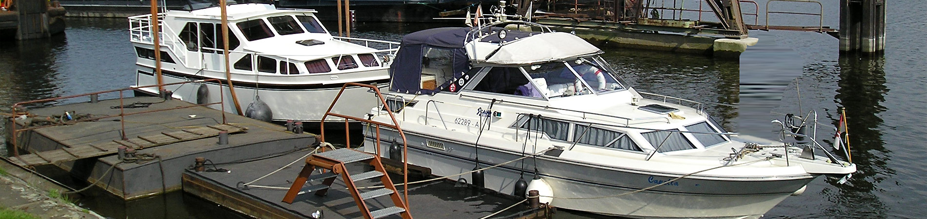 Yachtservice Meidericher Schiffswerft MSW Duisburg - Standort