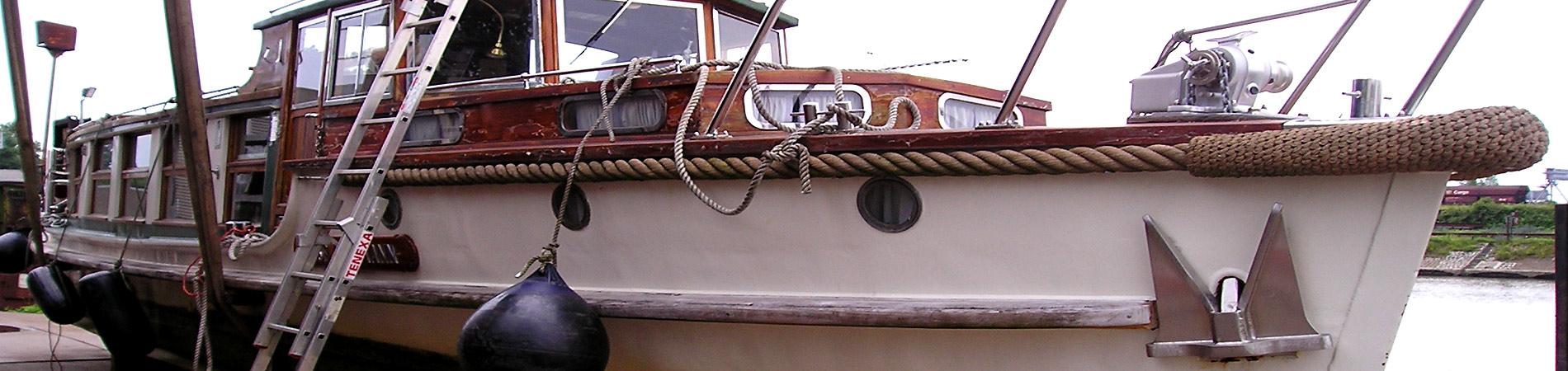 Yachtservice Meidericher Schiffswerft MSW Duisburg - Yachtservice-Umbau