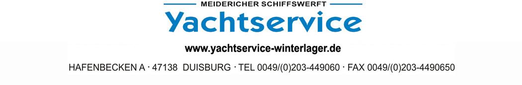 Yachtservice Meidericher Schiffswerft MSW Duisburg